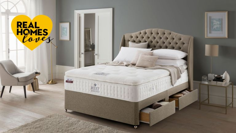 rest assured mattress in bedroom setting