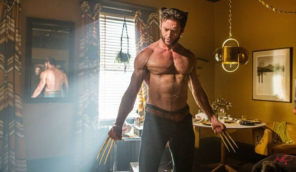 hugh jackman shirtless wolverine