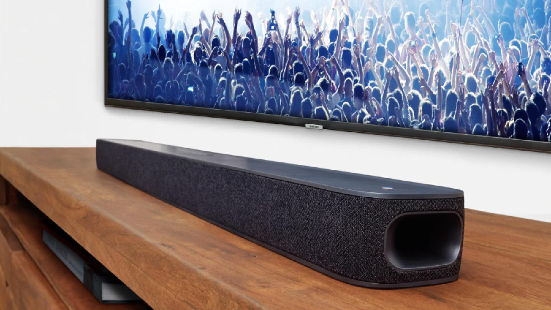 JBL Google Assistant soundbar dann auch endlich nach einem Jahr-lange Verzögerung