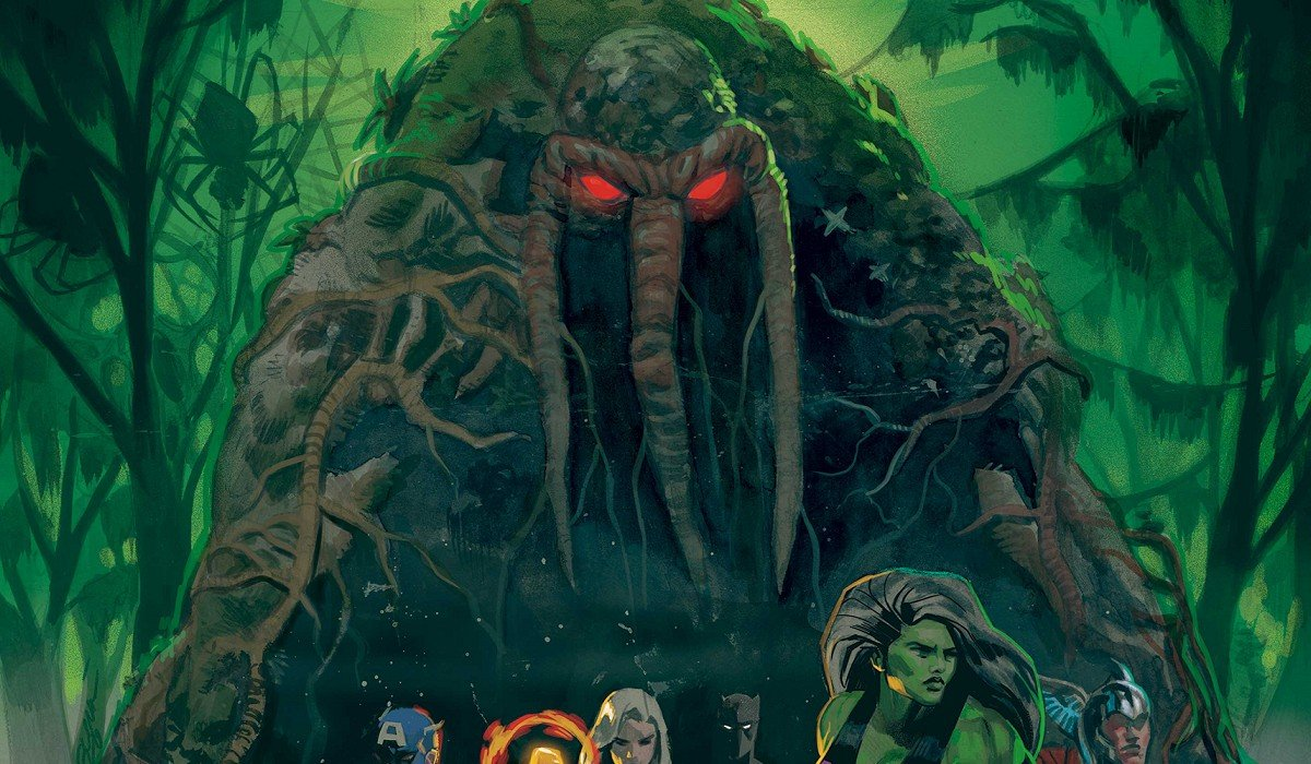 Man-Thing in Marvel