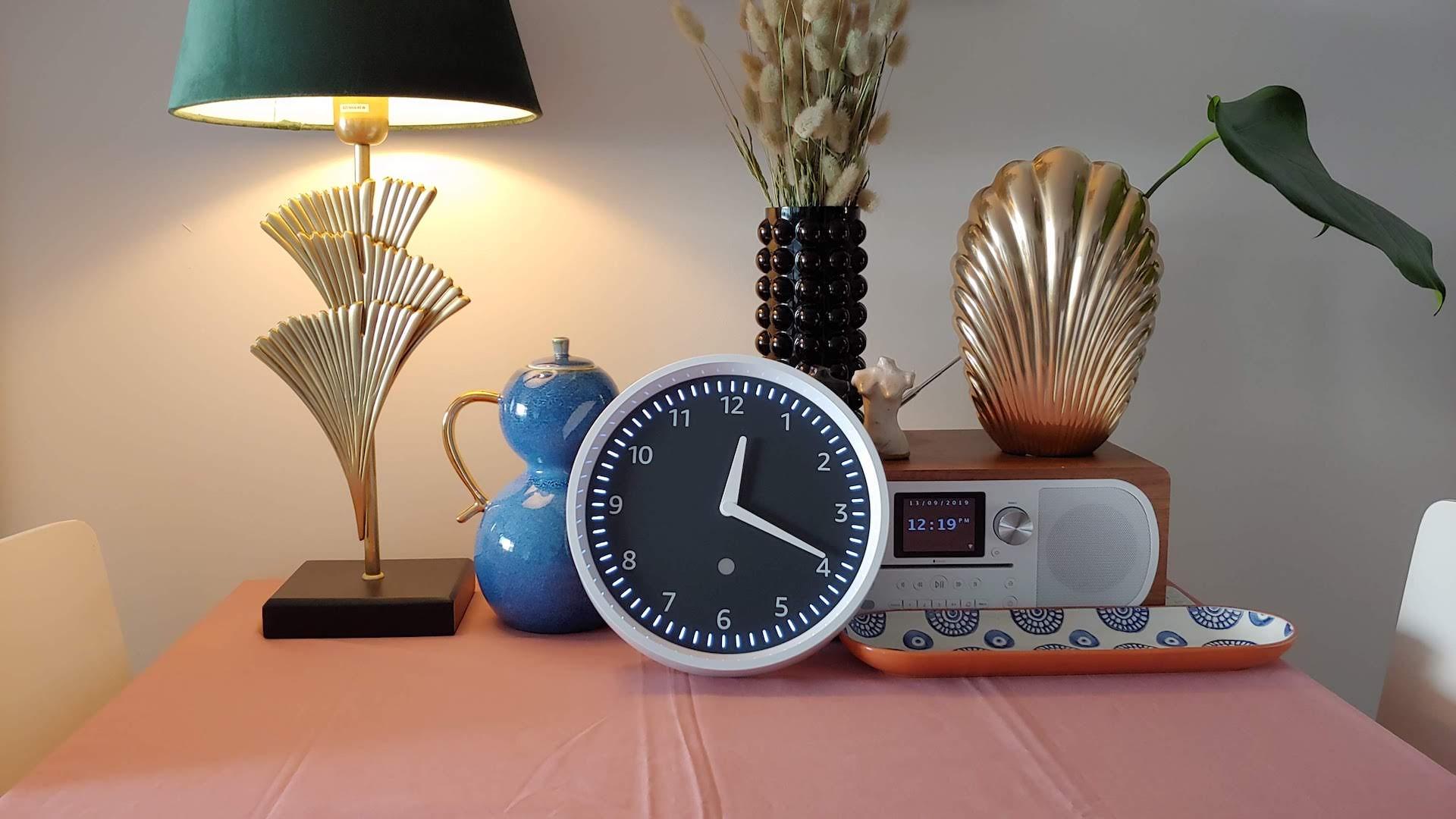the amazon echo wall clock