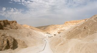 Egypt's valley of the kings overview photo
