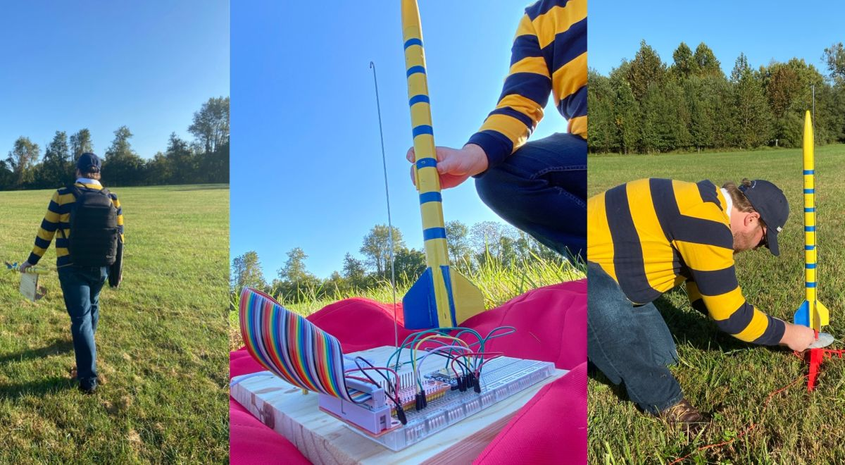 Raspberry Pi Blasts Off In Model Rocket to Record Telemetry Data