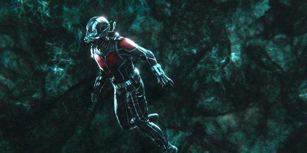 Ant-man in quantum realm