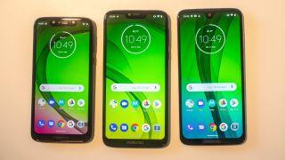 Moto G7 Play, Moto G7 Power and Moto G7 | Image Credit: TechRadar