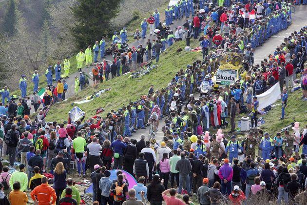 Zoncolan, Giro d'Italia 2010, stage 15