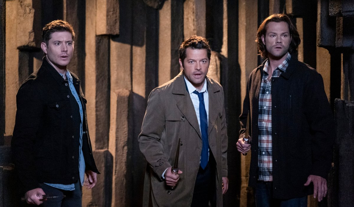supernatural season 15 sam dean castiel