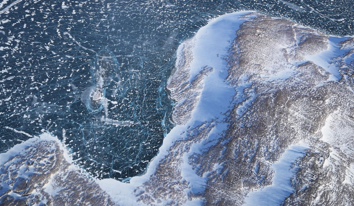 Greenland ice melt is changing the shape of its coastline