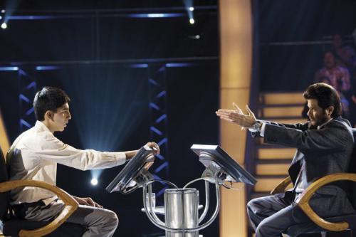 Slumdog Millionaire - Dev Patel & Anil Kapoor