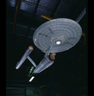 Original Starship Enterprise Model at Air and Space Museum