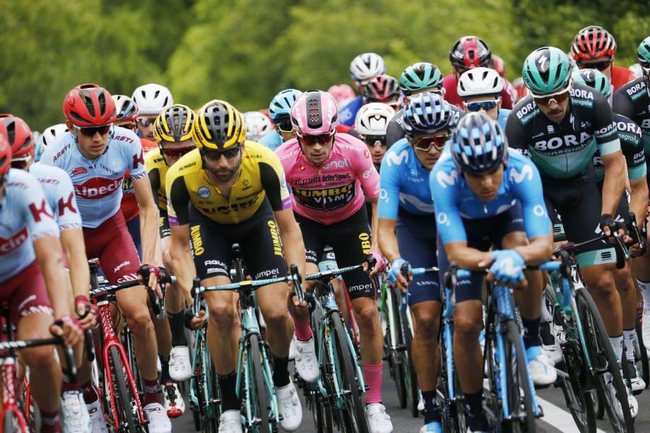 'Just be patient': Riders give their take on 'boring' start to Giro d'Italia