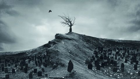 Cover art for Deathwhite - For A Black Tomorrow album