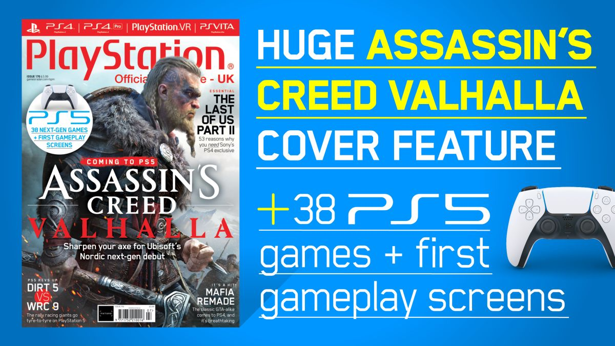Ps5 S Assassin S Creed Valhalla Takes The Cover Of Official