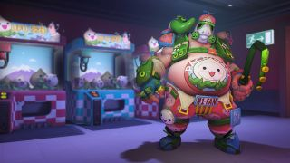 An image of Pachimari Roadhog from Overwatch's PachiMarchi event