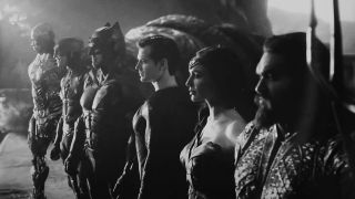 justice league black and white edition
