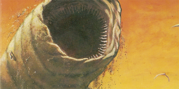 Sandworm Dune Frank Herbert book cover