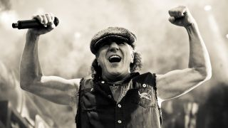 Brian Johnson of AC/DC