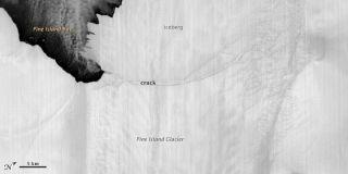 Pine Island Glacier iceberg