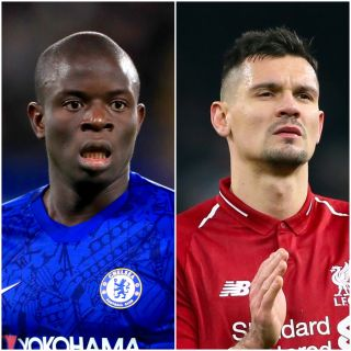 N'Golo Kante and Dejan Lovren
