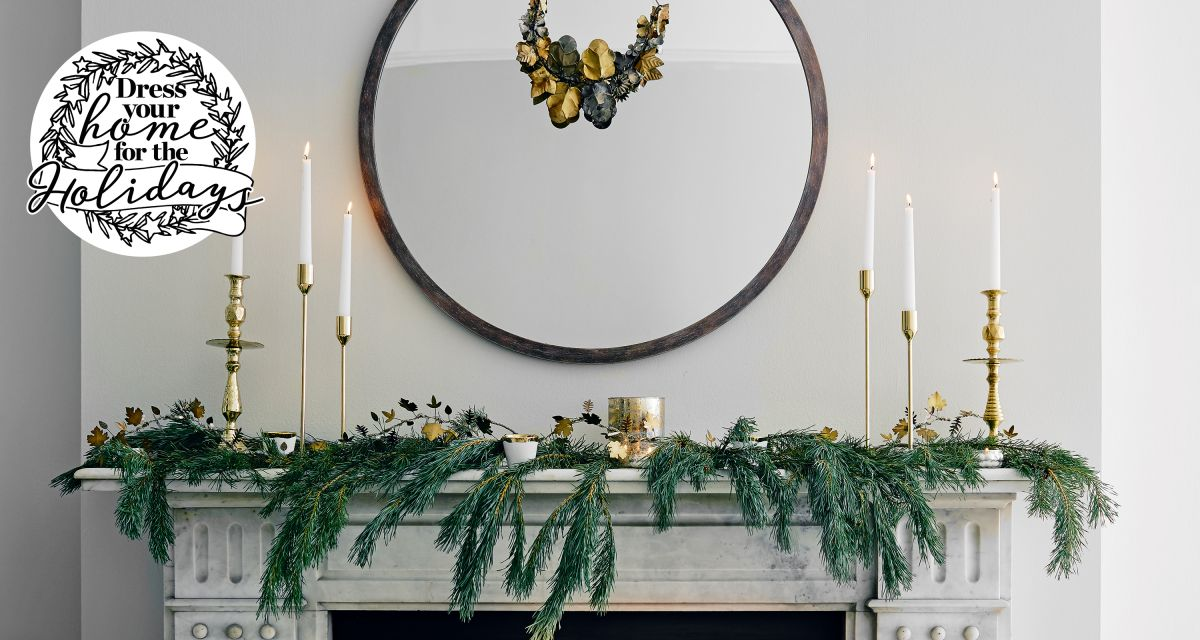 16 Christmas fireplace ideas – make your mantlepiece the star of the show this season