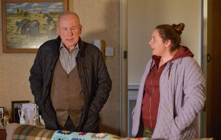 Ted tries to give Joyce a good send-off in EastEnders