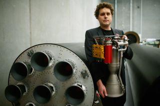 Peter Beck, CEO of Rocketlab