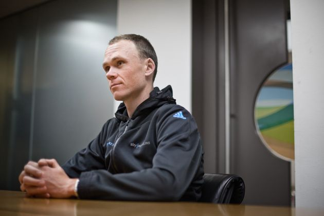 Chris Froome, London, December 17 2012