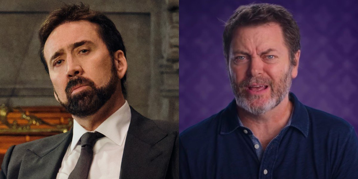 Nicolas Cage and Nick Offerman