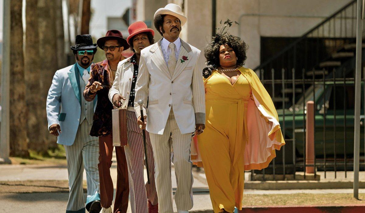 Dolemite Is My Name Eddie Murphy leads film team in suits