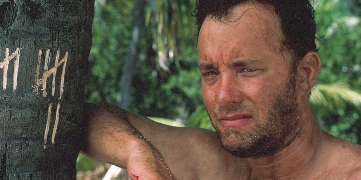 Tom Hanks in Castaway