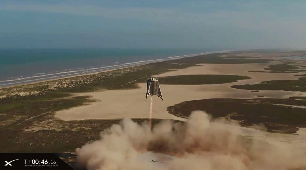 SpaceX's Next Starship Prototype Launch Will Be a 12-Mile-High Test Flight, Elon Musk Says