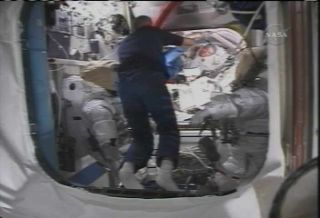 Space Station Astronauts Prepare for Aug. 3 Spacewalk