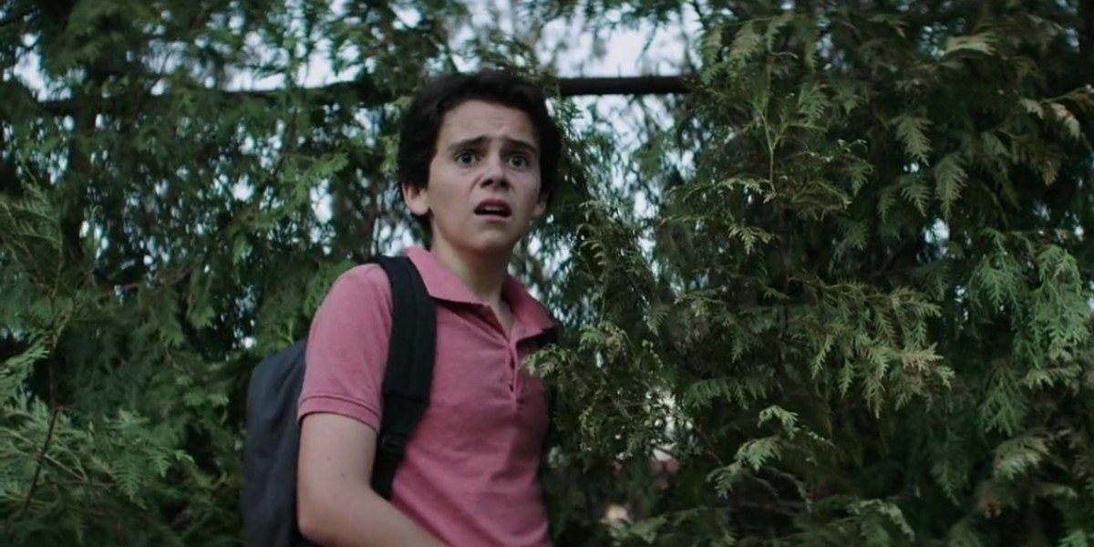 Jack Dylan Grazer as Eddie in IT: Chapter One