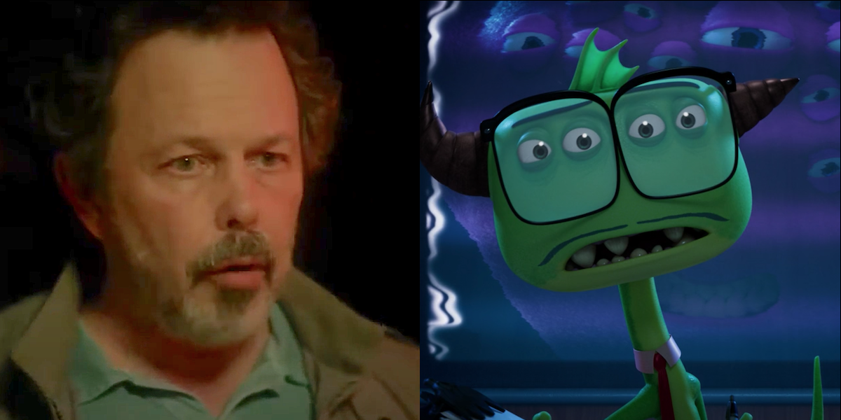 Monsters at Work Curtis Armstrong is Mr. Crummyham
