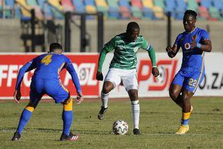Ndumiso Mabena of Bloemfontein Celtic