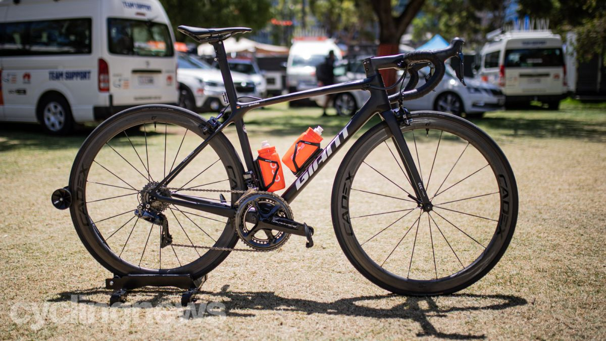 A closer look at the new Giant TCR - Simon Geschke's 6.4kg bike