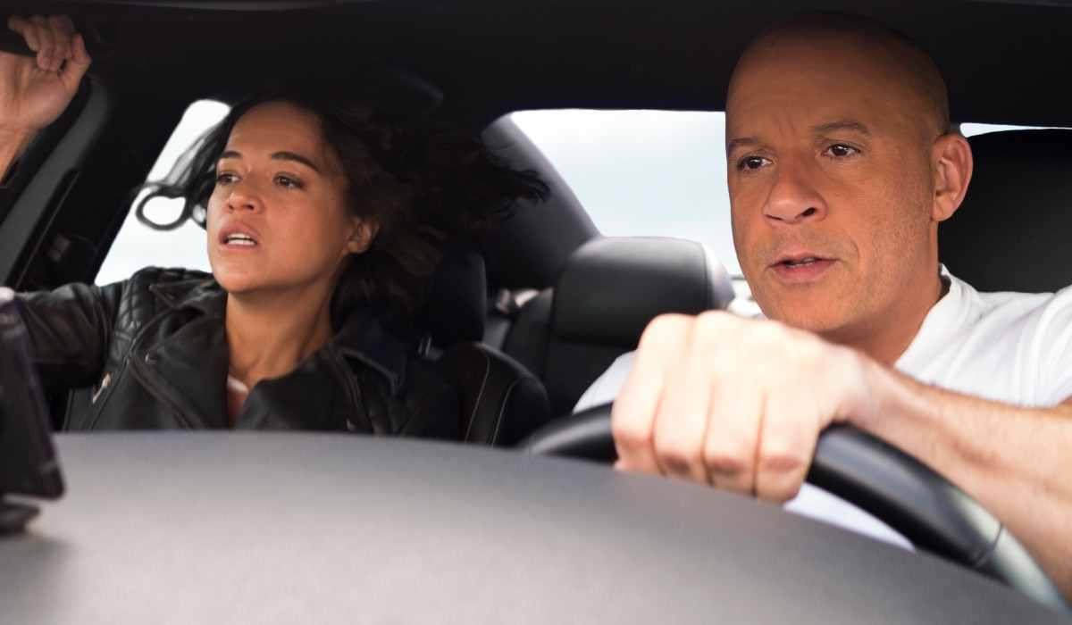 Letty and Dom F9