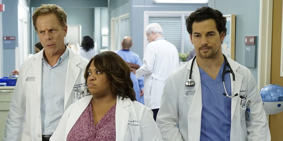 Grey S Anatomy Is Taking One Character To A Very Dark Place Cinemablend