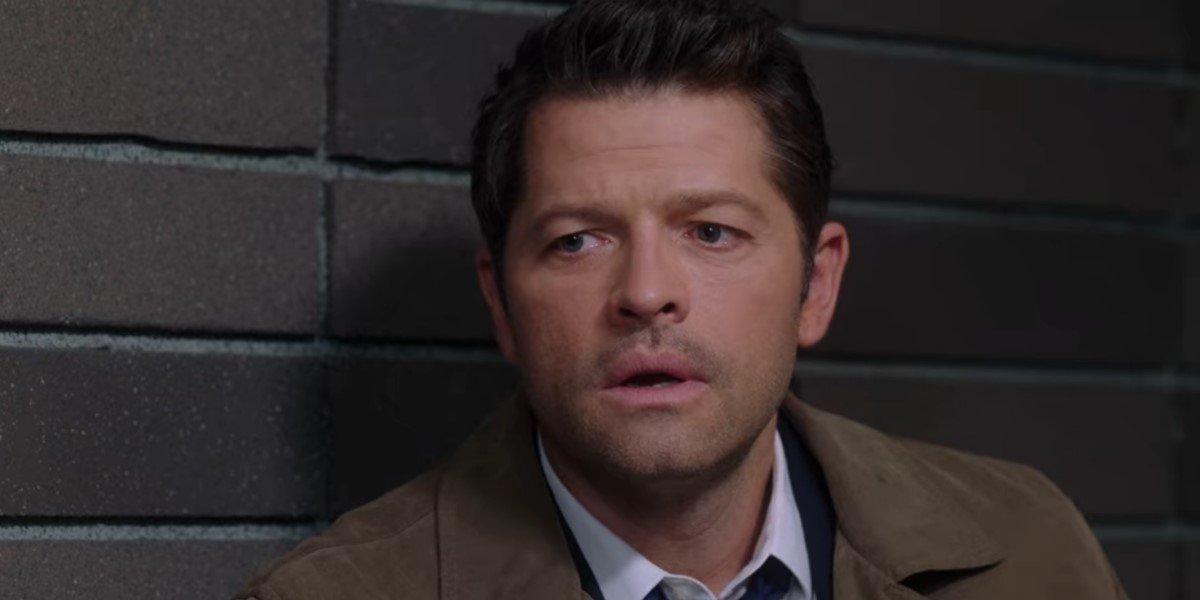 misha collins' castiel on supernatural season 15