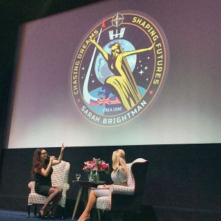 Sarah Brightman Space Mission Patch