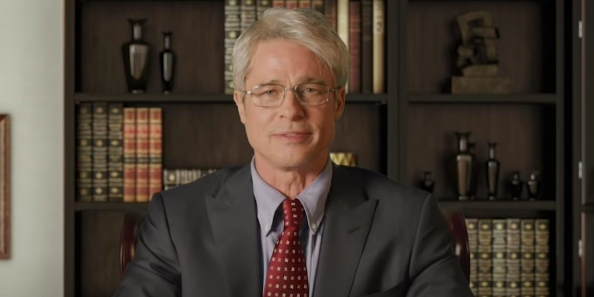 Brad Pitt as Dr. Anthony Fauci on Saturday Night Live