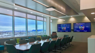 Cook Inlet Region, Inc. recently upgraded the conferencing facilities in its Anchorage headquarters with Sennheiser TeamConnect Ceiling microphones.
