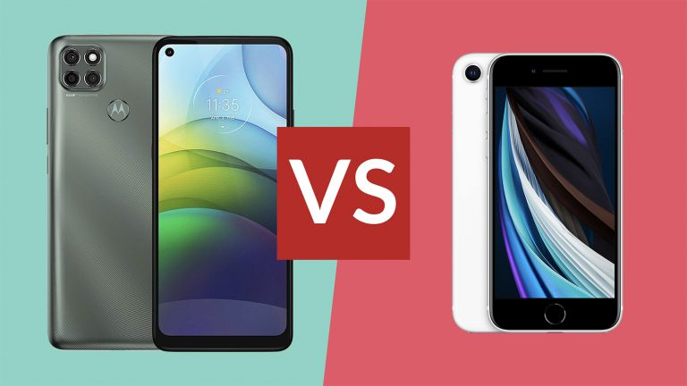 Moto G9 Power vs iPhone SE