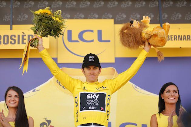 23f926368  Froome is still our best chance   Geraint Thomas plays down Tour de France  chances despite sensational stage victory