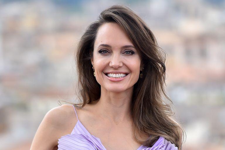 American actress Angelina Jolie attend Maleficent Mistress of Evil in the De La Ville hotel
