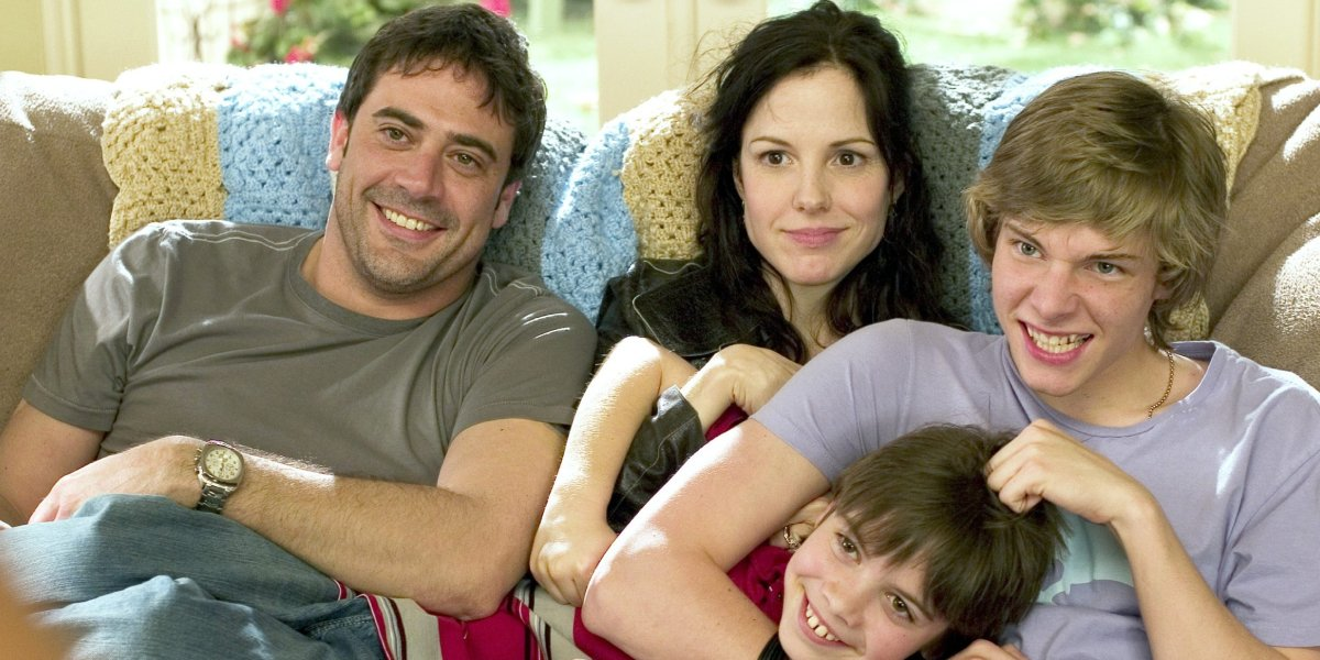 Jeffrey Dean Morgan and the cast of Weeds