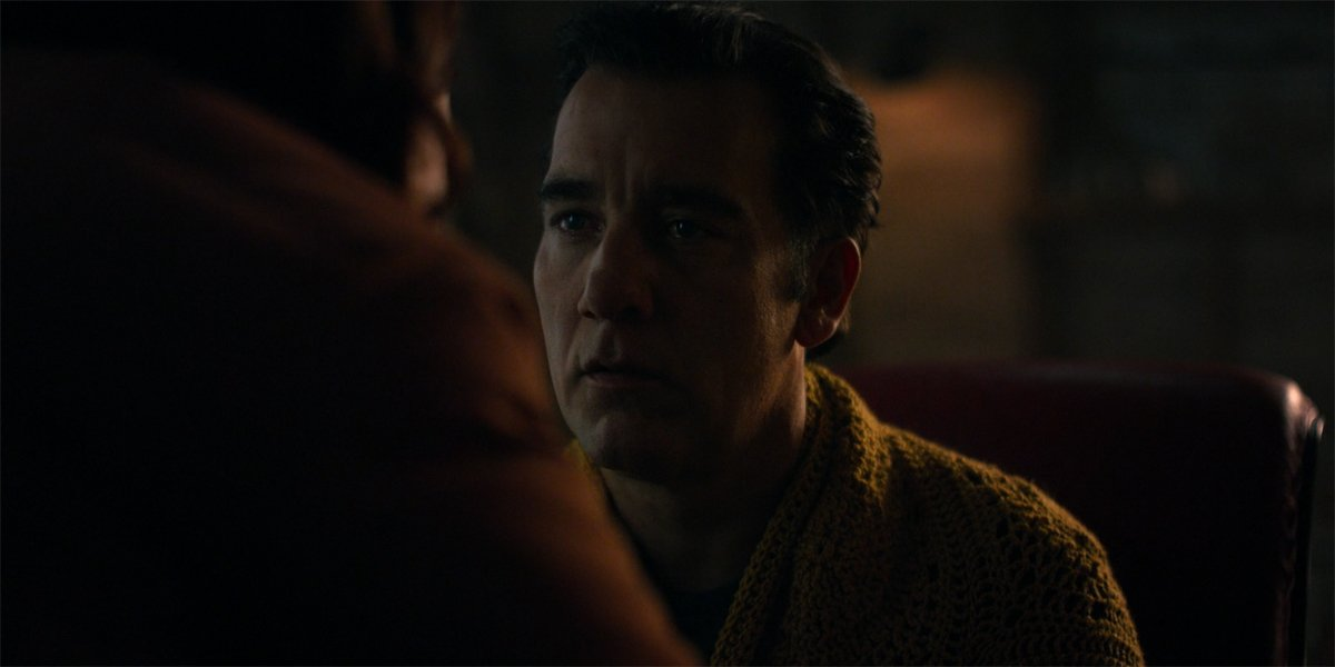Clive Owen as Scott goes catatonic in Lisey's Story