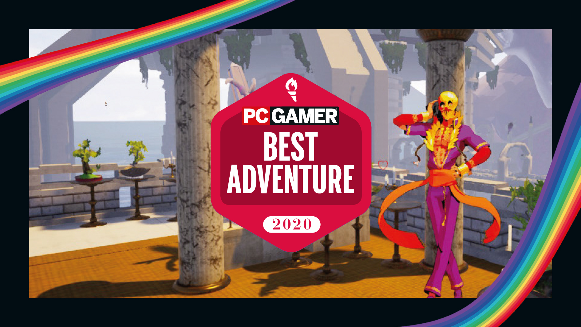 Best Adventure Game 2020: Paradise Killer