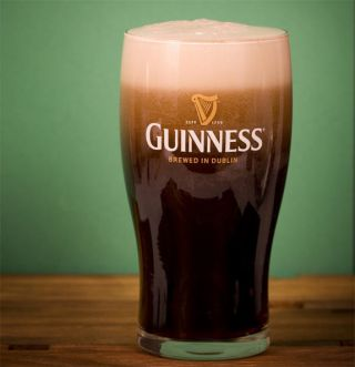The secret to the sinking bubbles in a frothy glass of Guinness may lie in the shape of the pint glass.