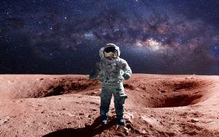 Future astronauts will visit Mars.